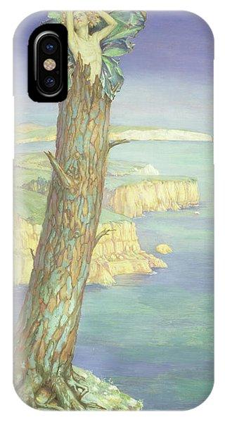 Awakening iPhone Case - Ariel by Maud Tindal Atkinson