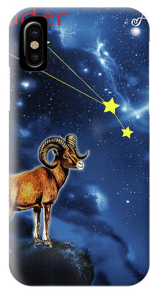 iPhone Case - Aries  by Johannes Margreiter