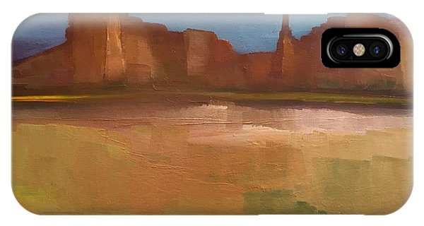 IPhone Case featuring the painting Arizona Calm by Michelle Abrams