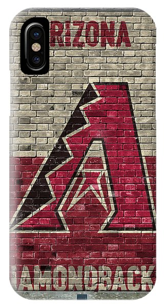 Arizona Diamondbacks Brick Wall IPhone Case