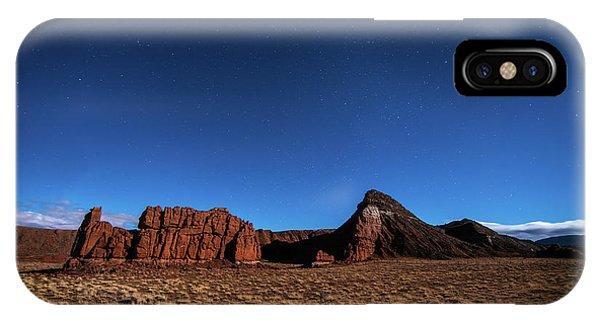 Arizona Landscape At Night IPhone Case