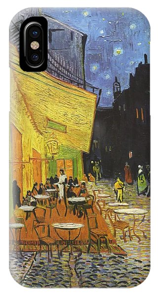 Arles Cafe Terrace At Night IPhone Case