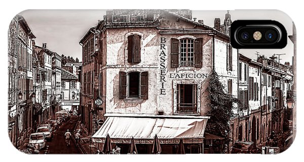 Arles, France, In Sepia IPhone Case