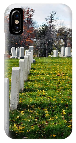 Department Of The Army iPhone Case - Arlington National Cemetery Hill by Kyle Hanson
