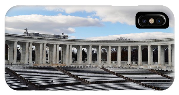Department Of The Army iPhone Case - Arlington National Cemetery Memorial Amphitheater by Kyle Hanson
