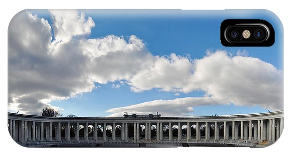 Department Of The Army iPhone Case - Arlington National Cemetery Memorial Amphitheater Panorama by Kyle Hanson
