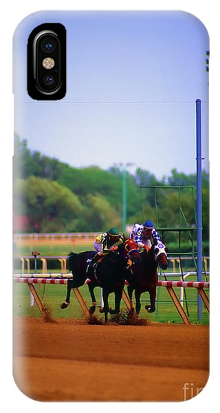 Arlington Park Finish Line IPhone Case