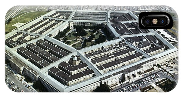 Department Of Defense iPhone Case - Arlington: Pentagon by Granger