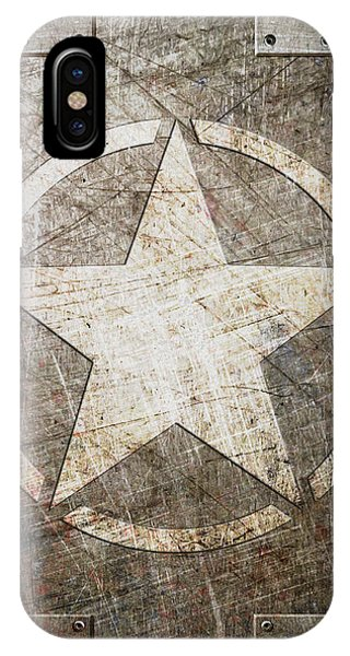 Army Star On Steel IPhone Case