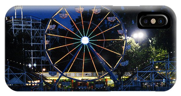Arnolds Park At Night IPhone Case