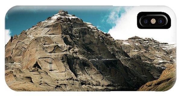 Kora iPhone Case - Around Holy Kailas Himalayas Tibet Yantra.lv by Raimond Klavins