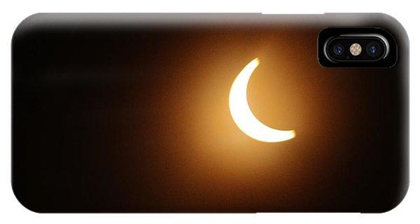 Around Peak Time Eclipse IPhone Case