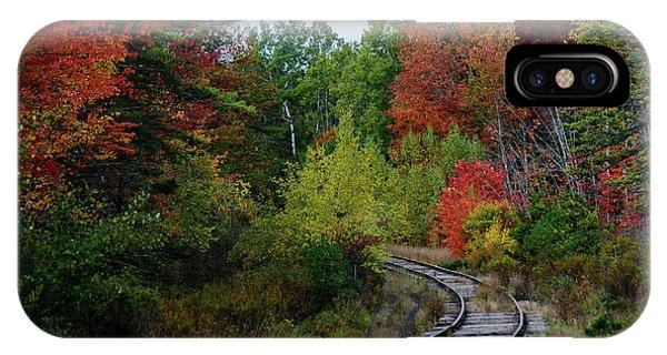 New England Fall Foliage iPhone Case - Around The Bend by Dan Jordan
