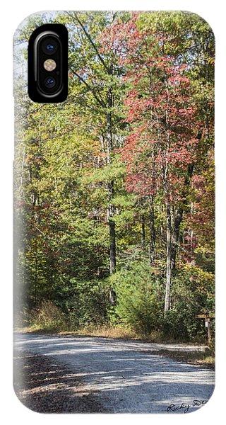 Around The Bend IPhone Case