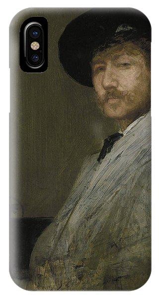 Arrangement In Gray Portrait Of The Painter IPhone Case