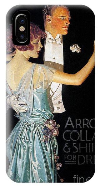 iPhone Case - Arrow Shirt Collar Ad, 1923 by Granger