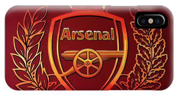 North London iPhone Case - Arsenal London Painting by Paul Meijering