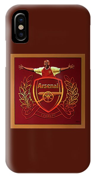 Fair iPhone Case - Arsenal London Painting by Paul Meijering