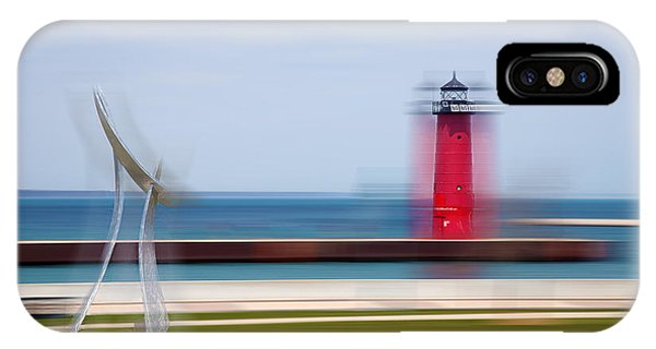 Art By The Lake Shore IPhone Case