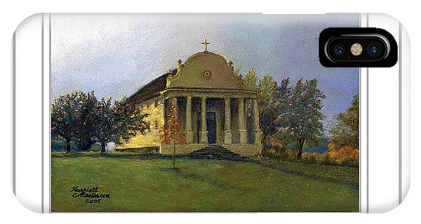 Art Card - Morning Light At Cataldo IPhone Case
