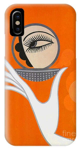 Art Deco Fashion Illustration IPhone Case