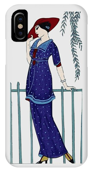 Art Deco Fashion Polka Dots IPhone Case