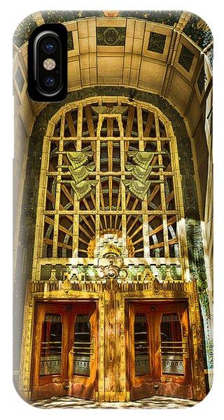 Art Deco Marine Building IPhone Case