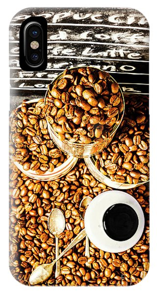 View Point iPhone Case - Art In Commercial Coffee by Jorgo Photography - Wall Art Gallery