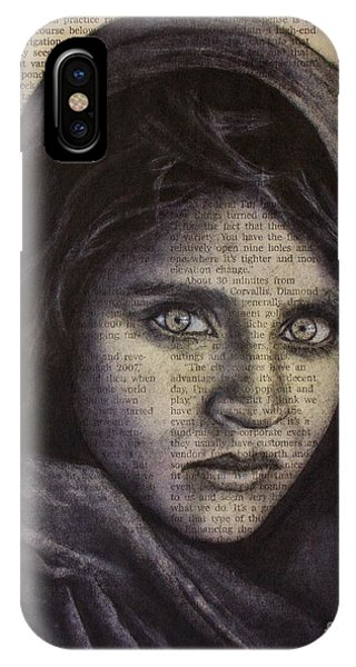 Art In The News 64-afghan Girl IPhone Case