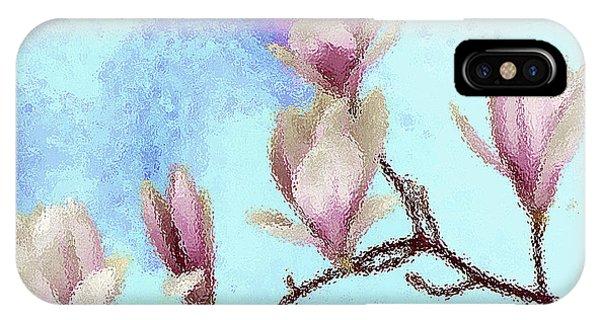 Art Magnolia IPhone Case