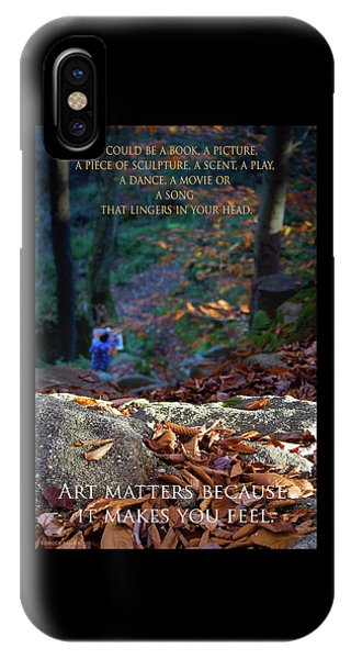 Art Matters IPhone Case