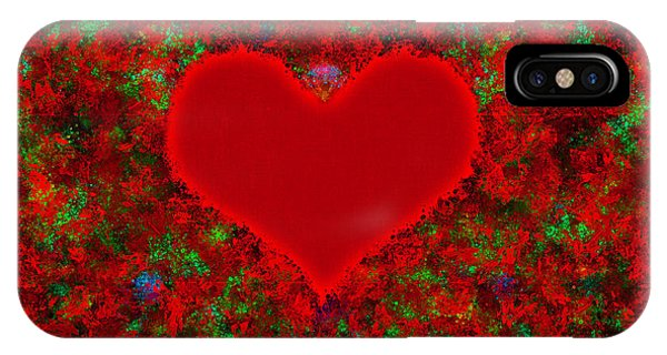 Art Of The Heart 2 IPhone Case