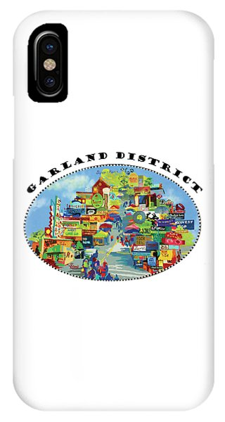 Donation iPhone Case - Garland District In Color by Tracy Dupuis Roland