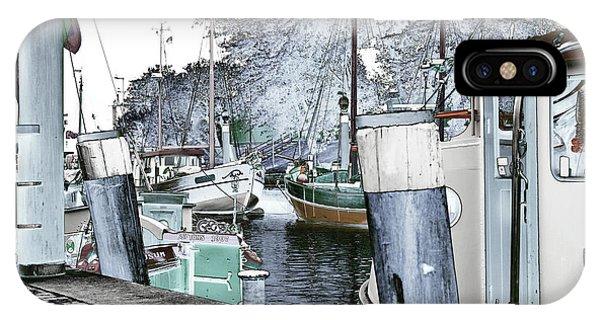 Art Print Boat 2 IPhone Case