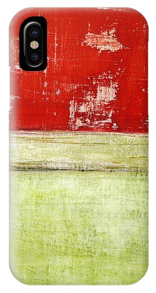 Art Print Rotgelb IPhone Case