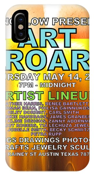 Art Roar May 2015 IPhone Case