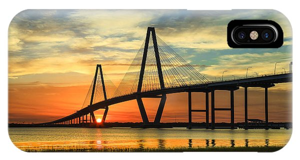 Arthur Ravenel Jr. Bridge - Charleston Sc IPhone Case