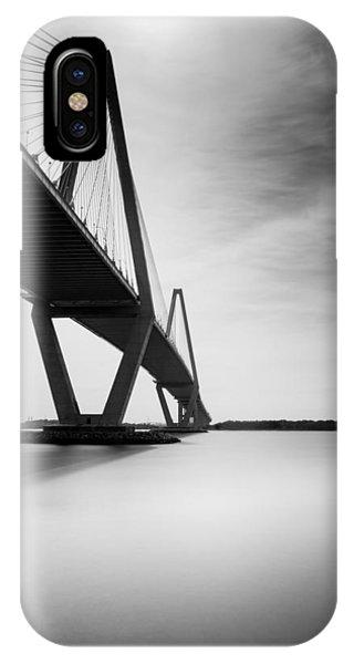 Long Exposure iPhone Case - Arthur Ravenel Jr Bridge II by Ivo Kerssemakers