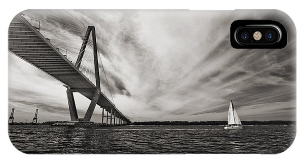 Arthur Ravenel Jr. Bridge Over The Cooper River IPhone Case