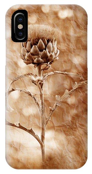 Artichoke Bloom IPhone Case