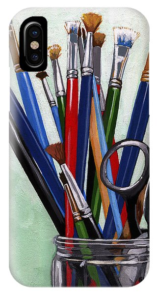 Artist Brushes IPhone Case