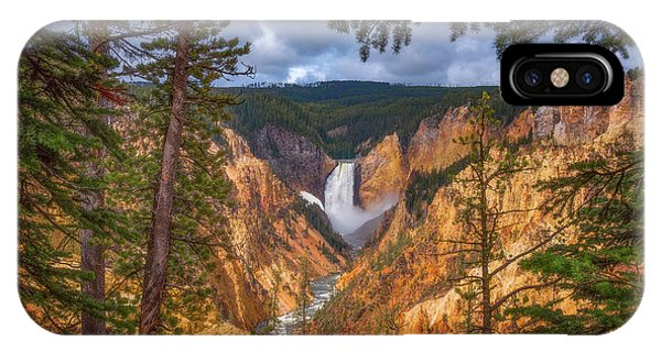 Yellowstone National Park iPhone Case - Artist Point Afternoon by Darren White