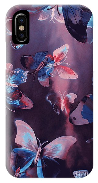 Fairy iPhone Case - Artistic Colorful Butterfly Design by Jorgo Photography - Wall Art Gallery