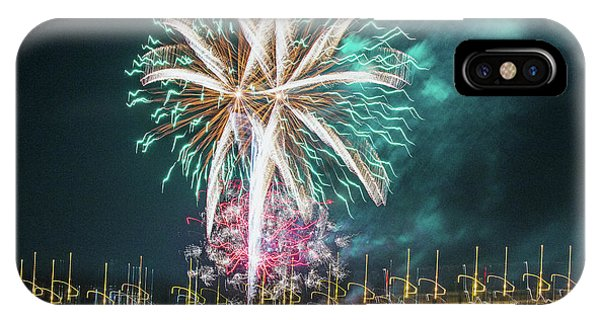 Artistic Fireworks IPhone Case