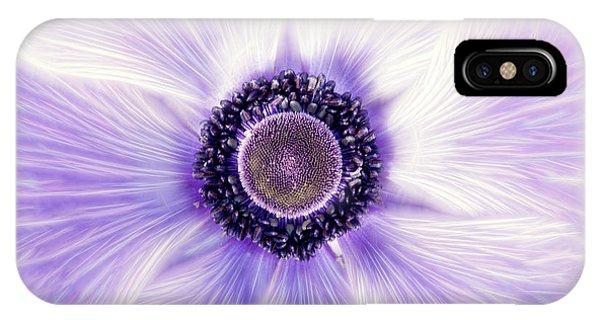 Artistic Poppy Anemone IPhone Case