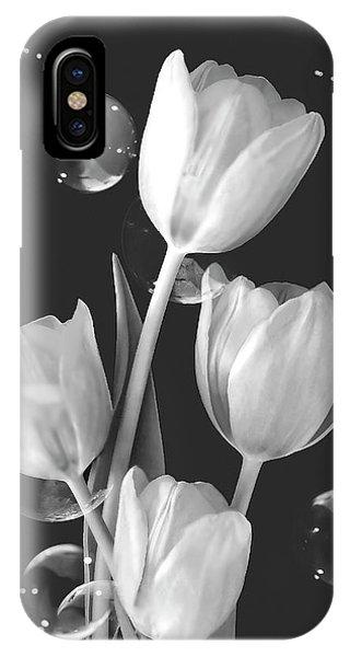 Artistic Tulip Bouquet 2  IPhone Case