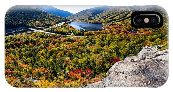 Artists Bluff, Franconia Notch IPhone Case