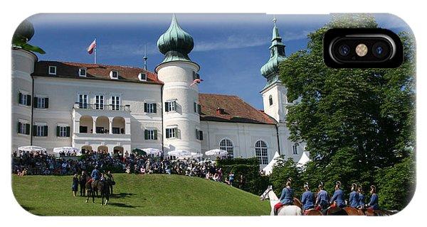 Artstetten Castle In June IPhone Case