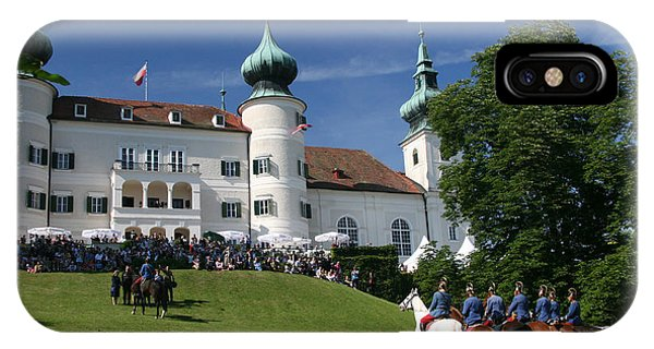 Michel Guntern iPhone Case - Artstetten Castle In June by Travel Pics