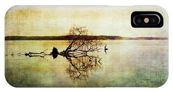 Artsy Lake Reflections IPhone Case